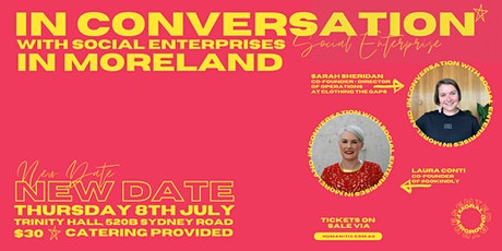 In Conversation with Social Enterprises in Moreland tickets