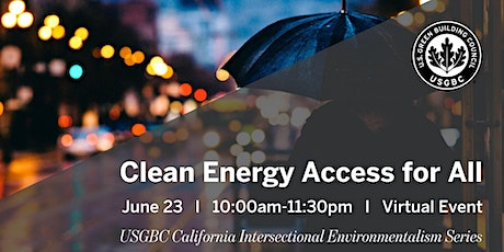 Clean Energy Access for All tickets