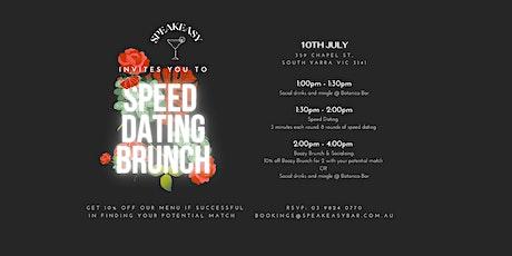 Speed Dating Boozy Brunch - Speakeasy Bar tickets