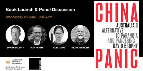 Book Launch & Panel Discussion—China Panic tickets