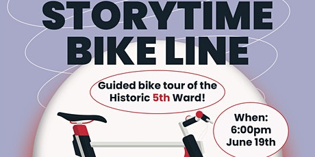 CIRCLE COALITION PRESENTS - STORYTIME BIKE LINE tickets