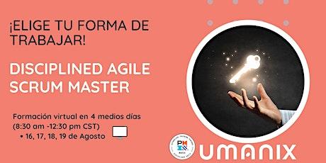 DASM -Disciplined Agile Scrum Master - en Español boletos