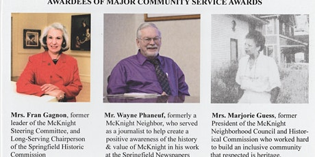McKnight Community Service Recognition Awards tickets