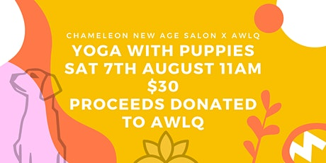 Yoga With Puppies - AWLQ Event tickets