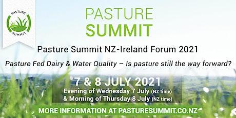 Pasture Summit NZ-Ireland Forum 2021 tickets