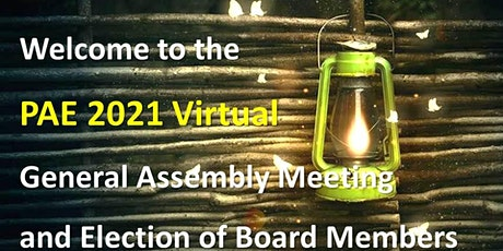 PAE 2021 General Assembly Meeting and Election tickets