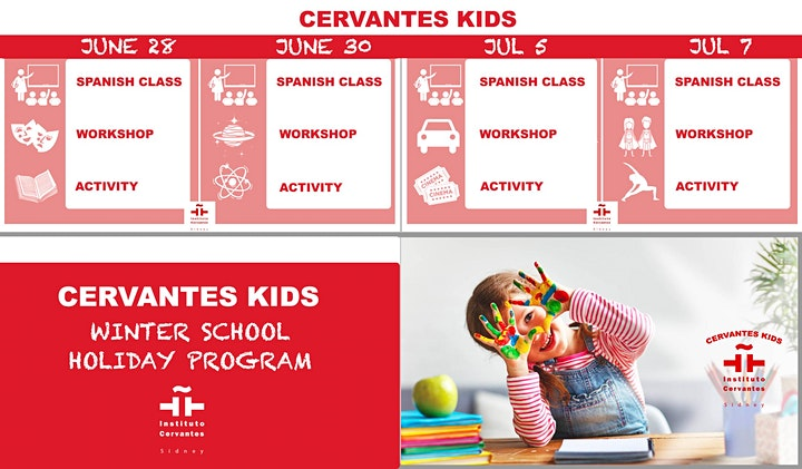 CERVANTES KIDS - NEW WINTER SCHOOL  HOLIDAY PROGRAM- ONE DAY- 5 HRS image