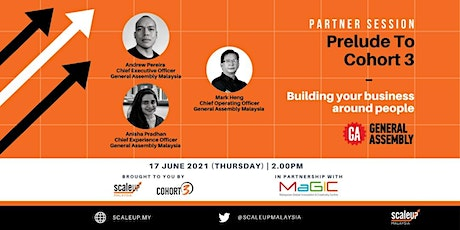 Partner Session: General Assembly - Building Your Business around People tickets