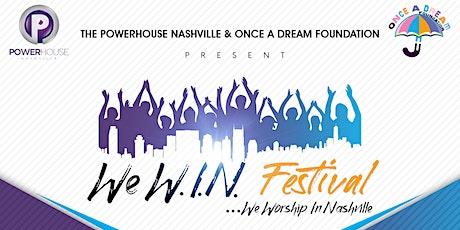 We W.I.N. Festival tickets
