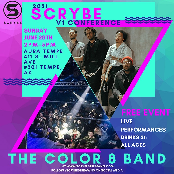 Scrybe Streaming V1 Conference image