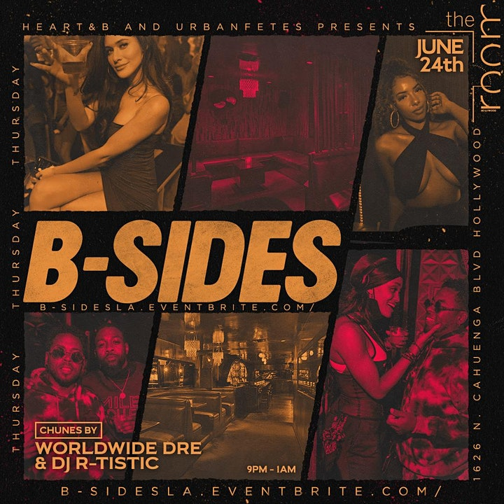 B-SIDES R&B Party at THE ROOM HOLLYWOOD image
