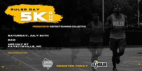 Ruler Day 5K presented by District Running Collective tickets