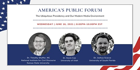 APF: The Ubiquitous Presidency and Our Modern Media Environment tickets