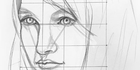 Learn how to Draw a Portrait,  Art Class for Teens  and Adults tickets