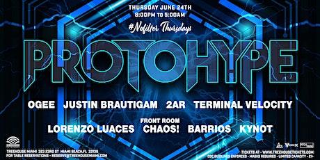 PROTOHYPE @ Treehouse Miami tickets