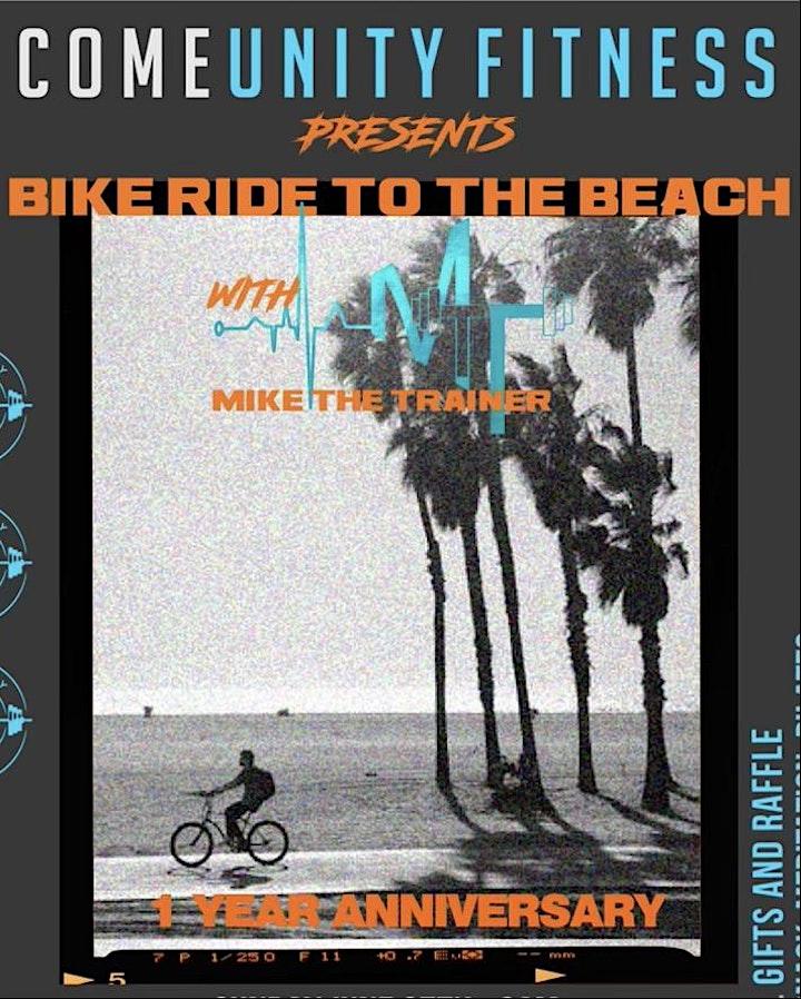 ComeUnity Fitness Bike Ride One Year Anniversary image