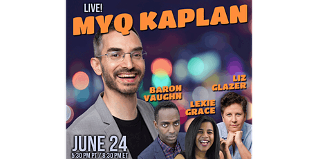 Myq Kaplan: Live Stand-up Comedy tickets