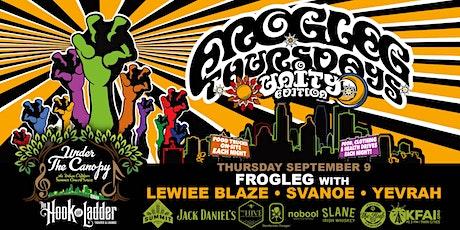 FROGLEG Thursdays with Lewiee Blaze, Svanoe, Yevrah tickets