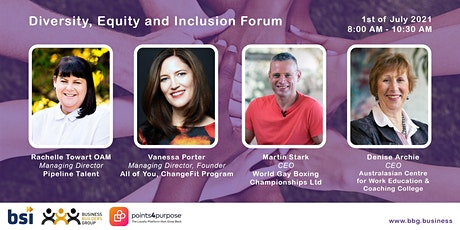 Diversity, Equity and Inclusion Forum tickets