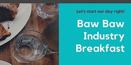 Industry Breakfast tickets