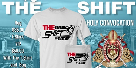 """Holy Convocation """"The Shift"""" tickets"""