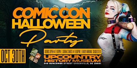 A Comic-Con Halloween Party tickets