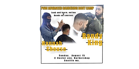 PNW advanced barbering boot camp tickets