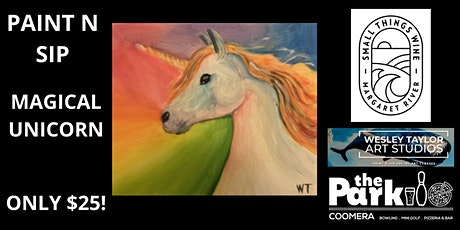 Paint and Sip Magical Unicorn tickets