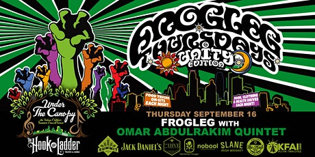 FROGLEG Thursdays with Omar Abdulrakim Quintet tickets