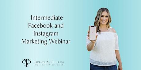 Intermediate Facebook & Instagram Marketing tickets