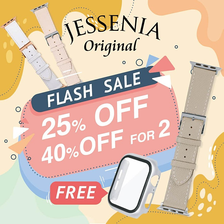 Flash Sale - 25% off for 1, 40% for 2 (FREE Watch Case for each purchase) image