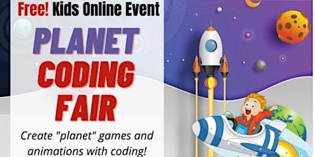 Online Coding Fair - Planet! tickets