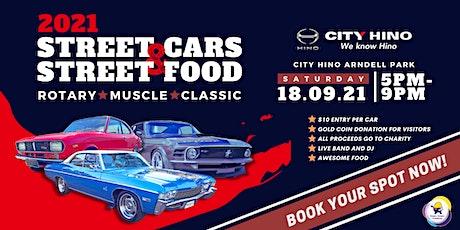 Street Cars & Street Food Car Show tickets