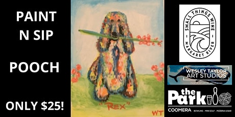 Paint and Sip Pooch tickets