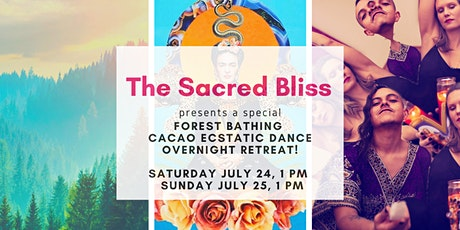 Forest Bathing Cacao ECSTATIC DANCE Overnight Retreat! tickets