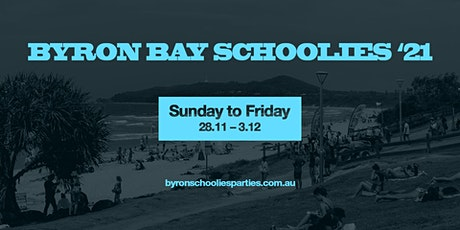 Byron Bay Schoolies 2021 tickets