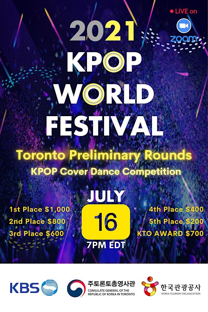 2021 K-POP World Festival Toronto Preliminary Rounds image