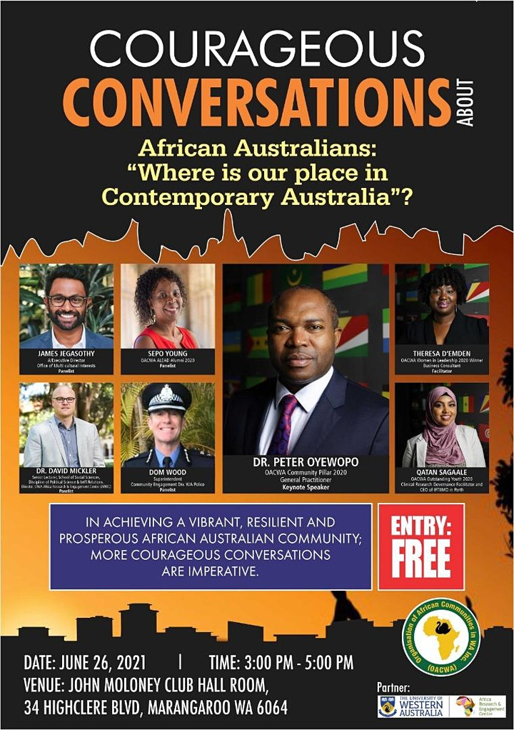 """African Australians, """" Where is our Place in Contemporary Australia"""" image"""