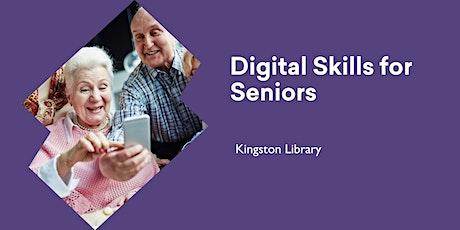 Digital Skills for Seniors @ Kingston Library tickets