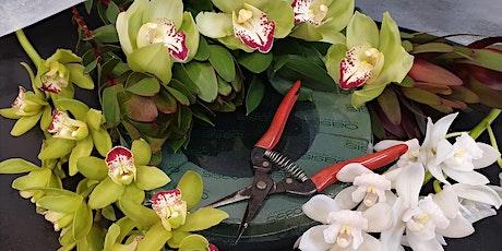 FLOWER WORKSHOP & ORCHID NURSERY TOUR - Joshua Cymbidiums, Drury, Auckland tickets