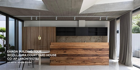 EmAGN Building Tour: Woollahra Courtyard House - CO-AP (Architects) tickets