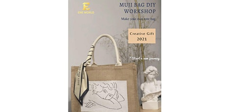 Muji bag DIY Workshop tickets