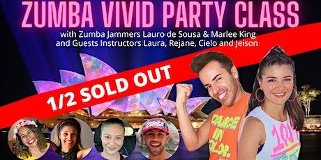Zumba Vivid Party Class 2021 tickets