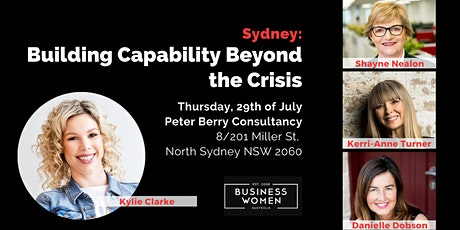 Sydney, BWA: Building Capability Beyond the Crisis tickets