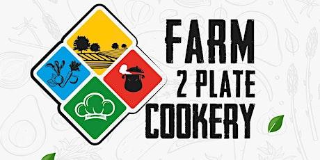 Farm2platecookery - Korean Cookery Course tickets