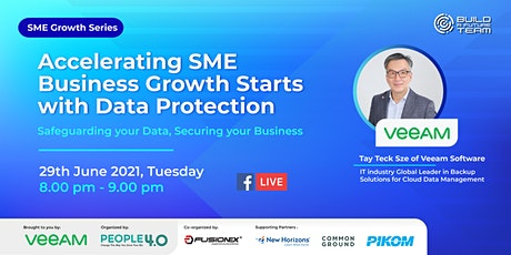 Accelerating SME Business Growth Starts with Data Protection tickets