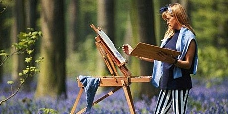 Painting in Hyde park (plein air) with picnic and wine tickets