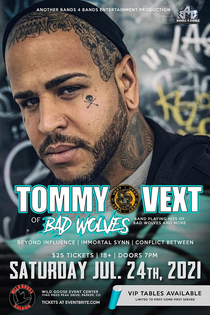 TOMMY VEXT OF BAD WOLVES image