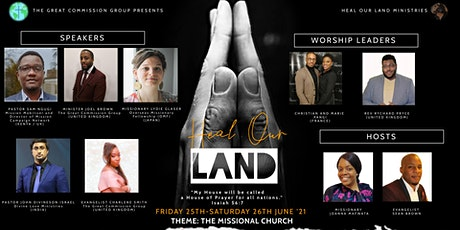 HEAL OUR LAND CONFERENCE: THE MISSION OF GOD AND THE MISSIONAL CHURCH tickets