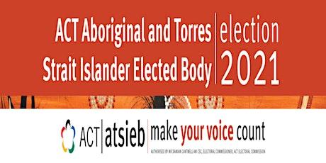 Aboriginal and Torres Strait Islander Elected Body (ATSIEB) Election 2021 tickets